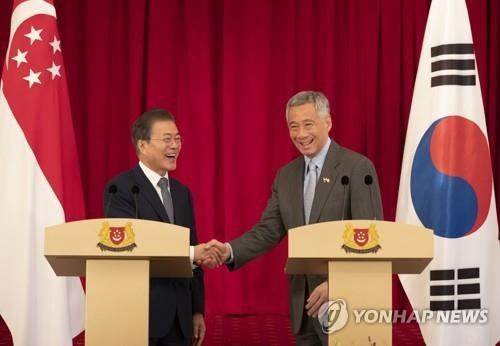 RoK, Singapore boost ties on smart city, arms development hinh anh 1