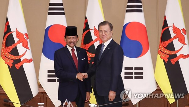 RoK, Brunei agree to foster ties in ICT, smart city projects hinh anh 1