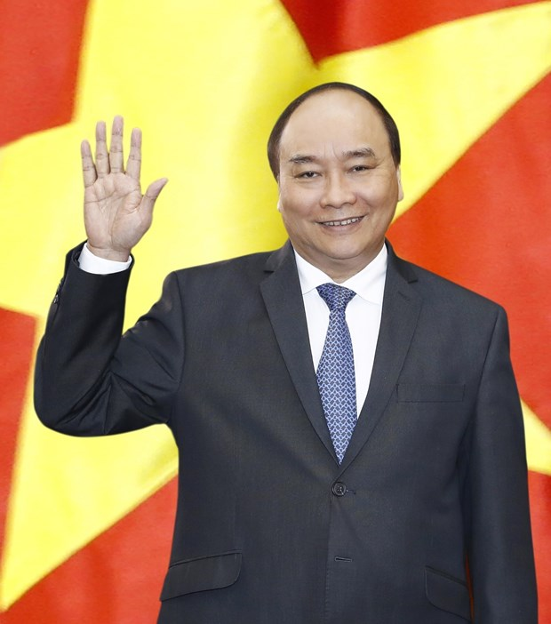 Prime Minister leaves for summits in RoK hinh anh 1