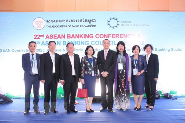Vietnam attends ASEAN Banking Conference in Cambodia hinh anh 1