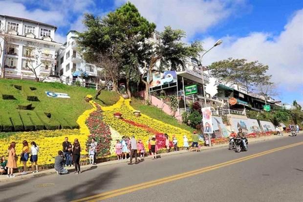 Da Lat actively prepares for flower festival hinh anh 1