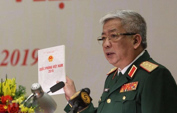 Vietnam launches white paper on national defence hinh anh 1