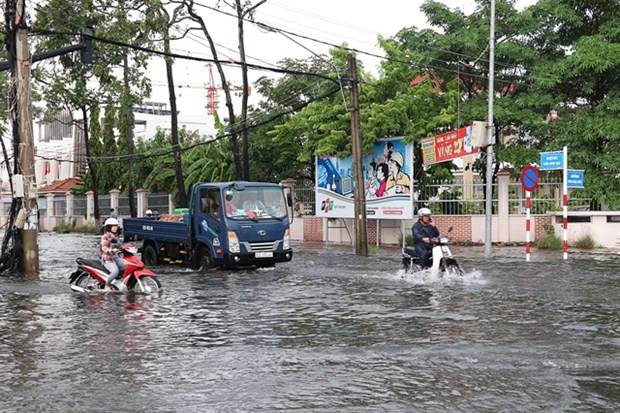HCM City, Mekong Delta face serious land subsidence hinh anh 1