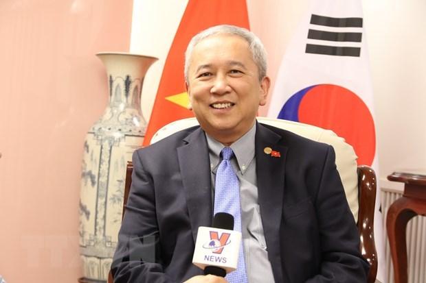 Vietnam-RoK relationship thriving in all spheres: ambassador hinh anh 1