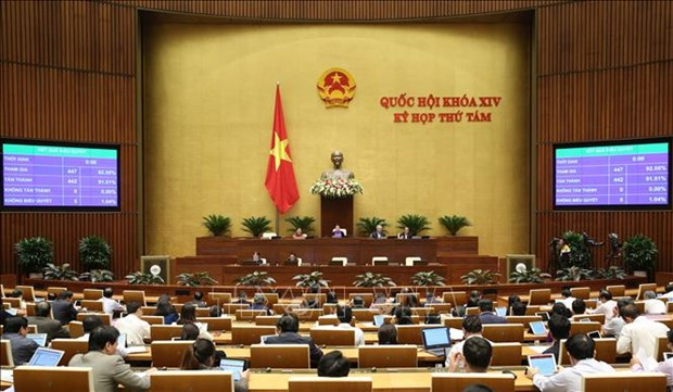 Lawmakers discuss amended law on judicial assessments hinh anh 1