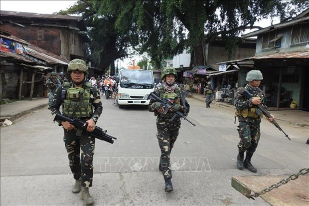 Six terrorists killed in two-day clashes in southern Philippines hinh anh 1