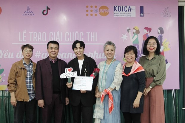 Prizes for safety of women competition announced hinh anh 1