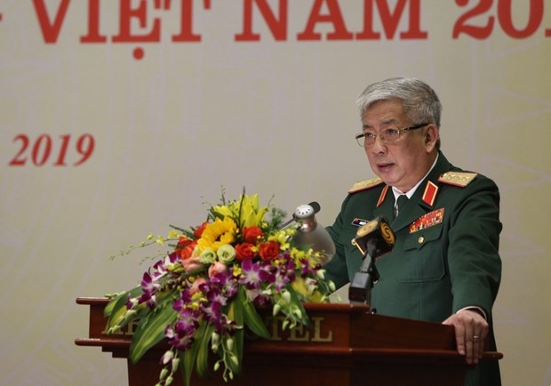 Official affirms Vietnam's defence policy of peace, self-defence hinh anh 1