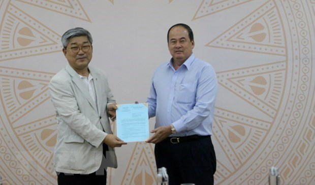 Korean firm to develop 900-million-USD smart IP in An Giang hinh anh 1