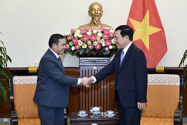 Deputy PM meets new Lao, Saudi Arabian ambassadors hinh anh 1
