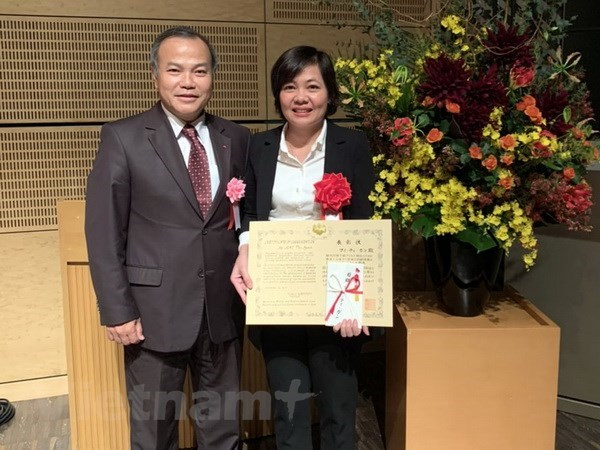 Vietnamese scientist honoured with Japan int'l award hinh anh 1