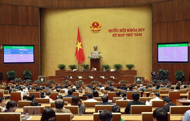 National Assembly approves three laws, three resolutions on November 26 hinh anh 1