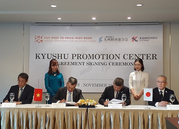 New centre to be set up in Hanoi to promote Japan's Kyushu region hinh anh 1