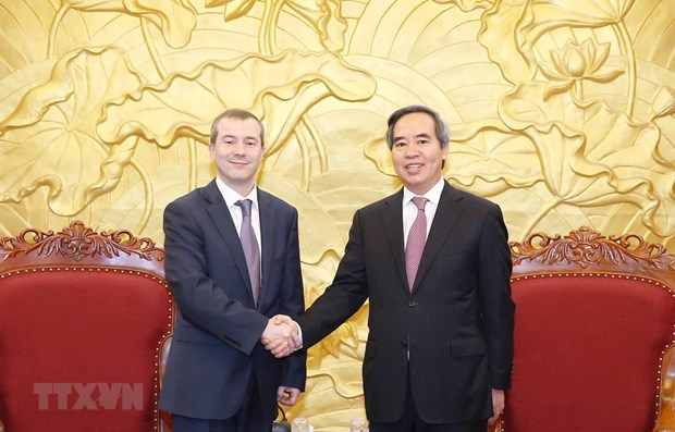 Party official hails IBEC's support for Vietnam hinh anh 1
