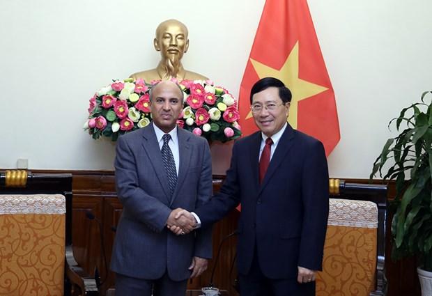 Deputy PM meets new Lao, Saudi Arabian ambassadors hinh anh 2