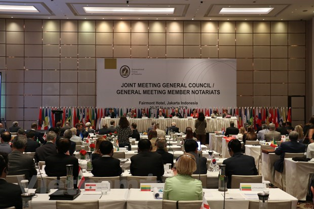 Vietnam attends 29th int'l congress of notaries in Indonesia hinh anh 1