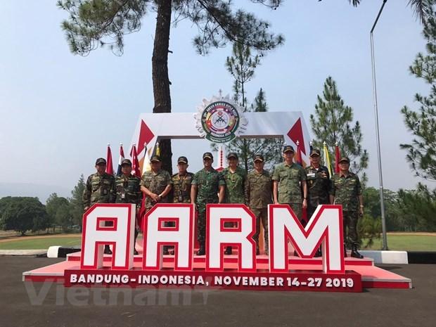 Vietnam team come third at 29th ASEAN Armies Rifle Meet hinh anh 1