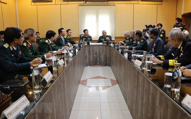 Vietnamese, Indian militaries enjoy fruitful cooperation: officials hinh anh 1