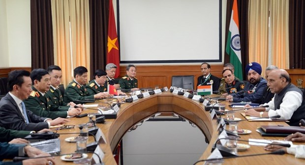 Vietnamese, Indian militaries enjoy fruitful cooperation: officials hinh anh 2
