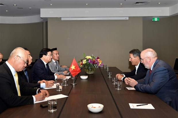 Deputy PM lauds Australian state's cooperation with Vietnamese localities hinh anh 3