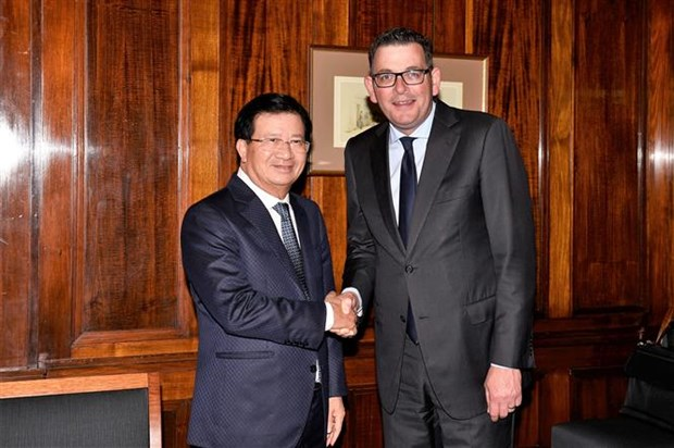 Deputy PM lauds Australian state's cooperation with Vietnamese localities hinh anh 1
