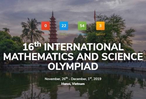 Hanoi hosts 16th International Mathematics and Science Olympiad hinh anh 1