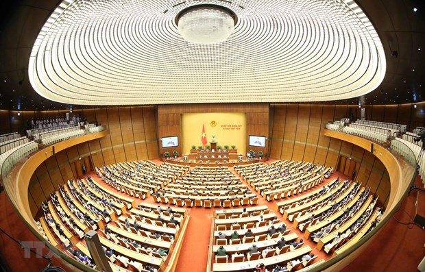 Eighth session of 14th-tenure National Assembly closes hinh anh 1
