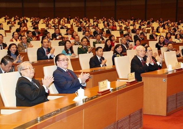 11 laws, codes adopted at NA 8th session hinh anh 1