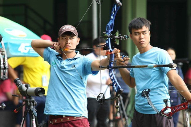 Vietnamese archer wins historical silver medal at Asia champs hinh anh 1