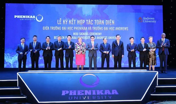 Phenikaa Group launches university, innovation foundation hinh anh 1