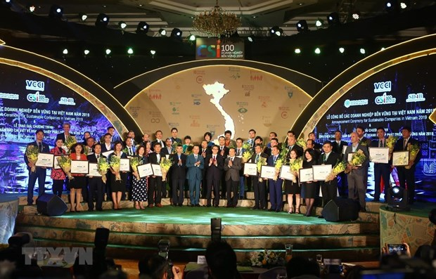 Vietnam's sustainable businesses in 2019 honoured hinh anh 1