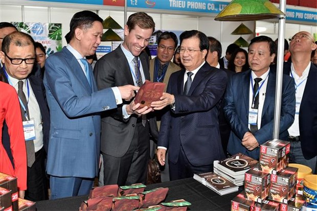 Event promoting Vietnamese goods held in Australia hinh anh 1