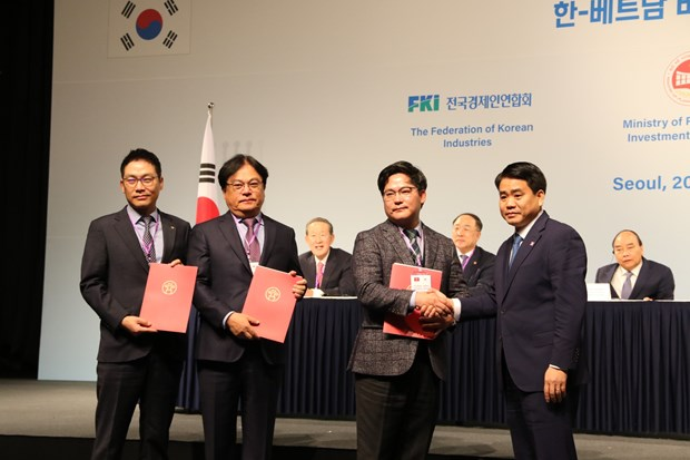 Korean firms hoped to create new investment wave in Vietnam hinh anh 1