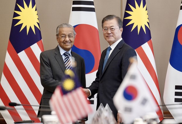 Korean, Malaysian leaders agree to lift ties to strategic partnership hinh anh 1