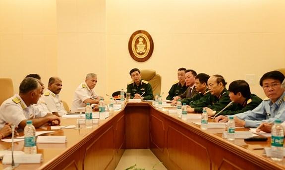 Chief of VPA General Staff Phan Van Giang active in India hinh anh 1