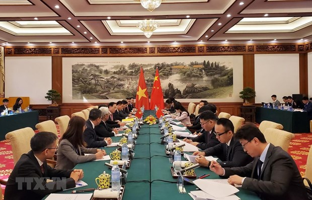 Vietnamese, Chinese deputy foreign ministers talk bilateral ties hinh anh 1