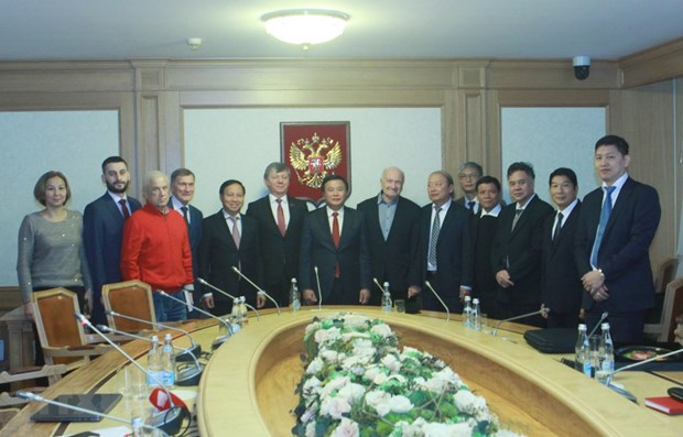 CPV seeks stronger relations with Communist Party of Russia hinh anh 1