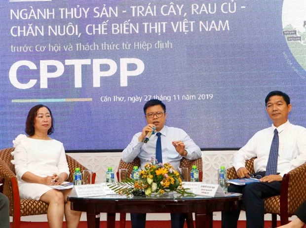 Seminar discusses opportunities, challenges from CPTPP hinh anh 1