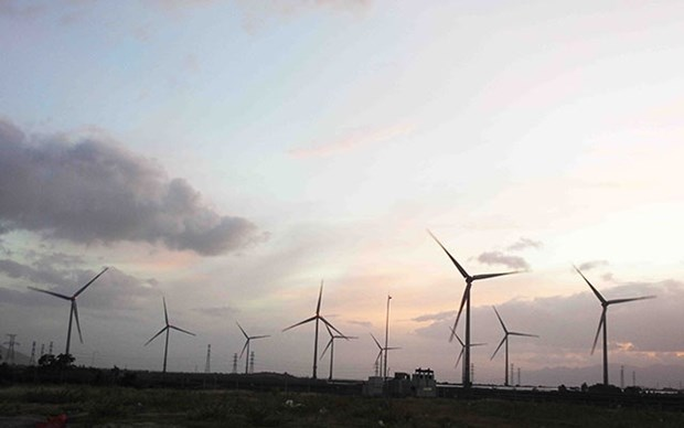 Trung Nam wind power plant's second stage starts generation hinh anh 1