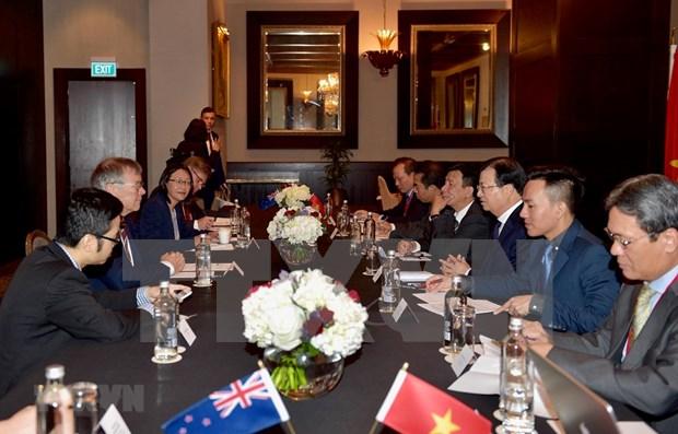 Vietnam, New Zealand seek to boost comprehensive partnership hinh anh 1