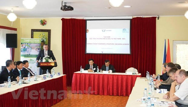 Vietnam, Czech Republic look to bolster trade partnership hinh anh 1