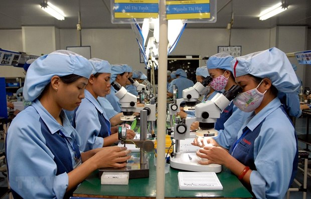 Industrial production index's expansion slows down in November hinh anh 1