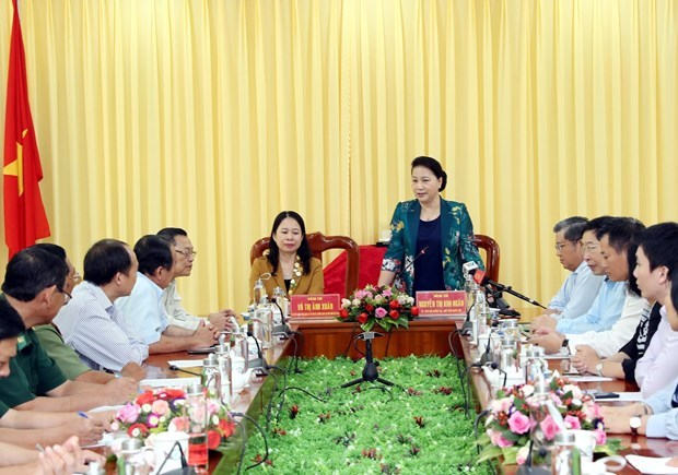NA leader hails An Giang border guard force's performance hinh anh 1
