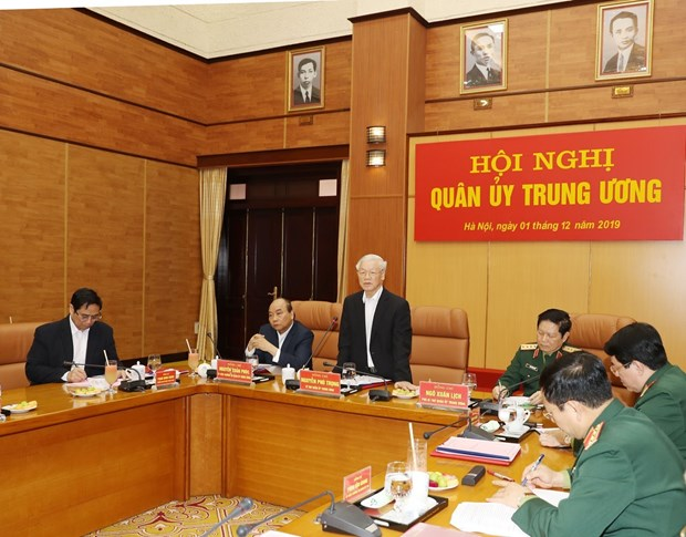 Commission reviews military, defence task performance in 2019 hinh anh 1