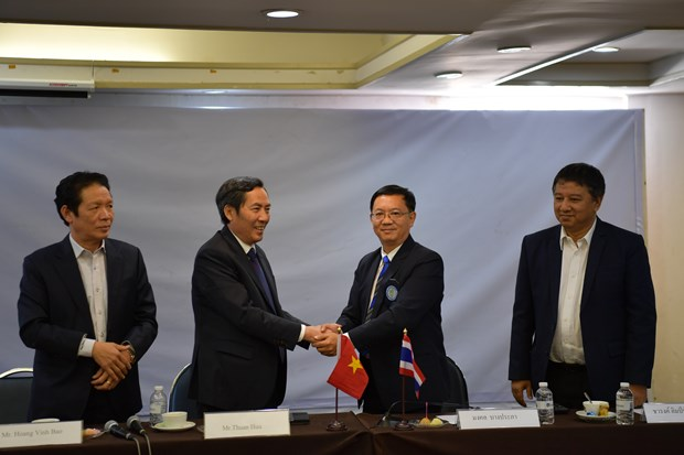 Journalists' organisations of Vietnam, Thailand boost cooperation hinh anh 1