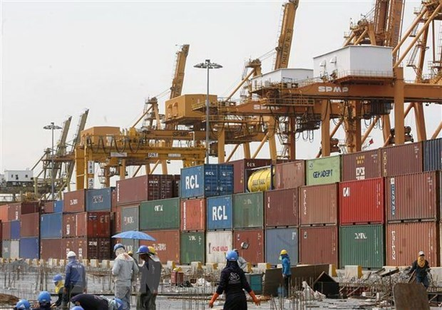 Thailand's cross-border trade slightly decreases in 10 months hinh anh 1