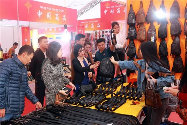 Vietnam-China trade, tourism fair kicks off in Quang Ninh hinh anh 1