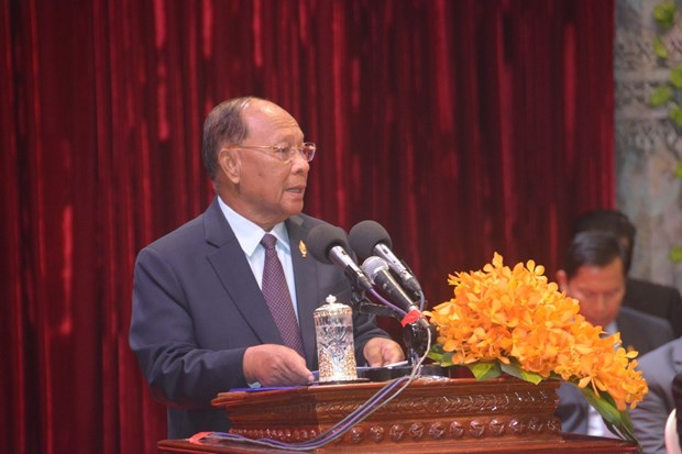Cambodia marks 41st founding anniversary of salvation front hinh anh 1