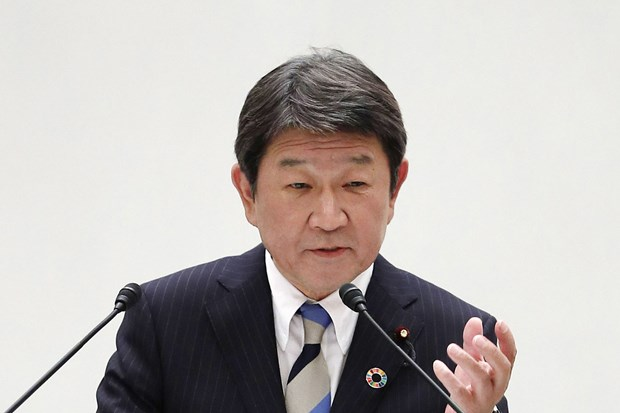Japan promises 3 billion USD in development funding for ASEAN hinh anh 1