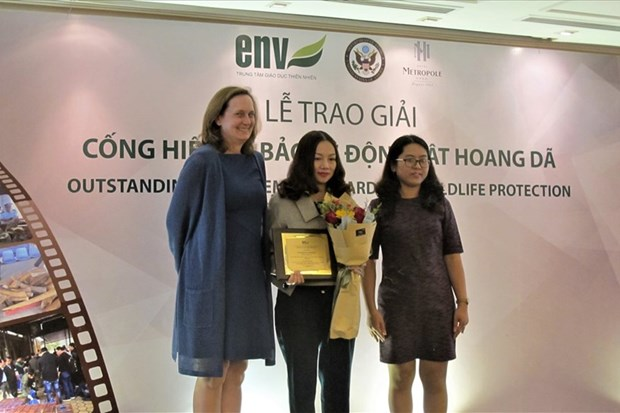 Third Wildlife Protection Awards honours law enforcement officials, teams hinh anh 1